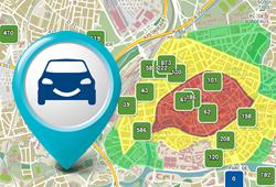 Austerlitz, Bateliers, les halles, Wodli, Gare courte durée, Gutenberg tous les parkings disponibles à Strasbourg et les reservations
