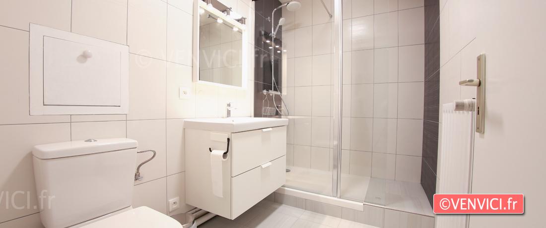 VENVICI.FR airbnb centre Strasbourg salle de bains